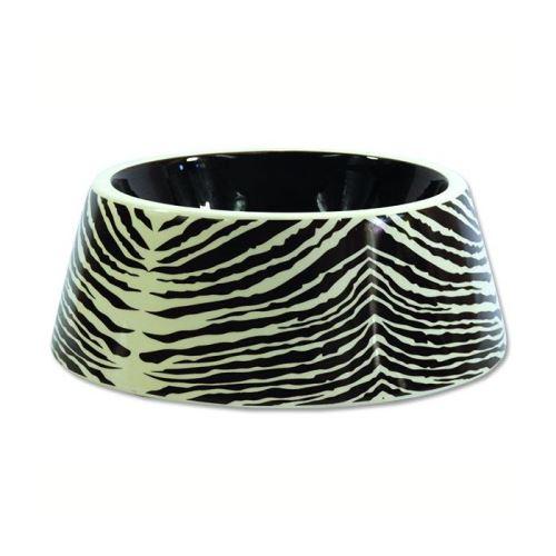 Dog Fantasy miska keramická zebra 23,5 cm