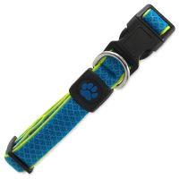 Obojek ACTIV DOG Fluffy Reflective modrý M 1ks
