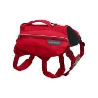 Ruffwear batoh pro psy, Singletrak Pack, červený, velikost M