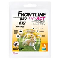 Frontline Tri-Act pro psy Spot-on 1 pipeta