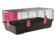 Klec SMALL ANIMALS Matěj černá s červenou výbavou