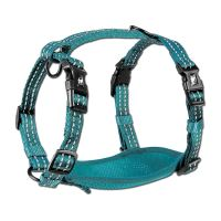 Alcott reflexní postroj pro psy, modrý, velikost M