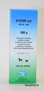 Bioveta Otipur Roztok k čištění uší pro psy a kočky