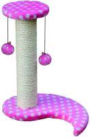 Škrabadlo Isa - ružové Nobby 35 x 25 x 39 cm