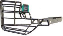 Náhubek kovový Dalmatin - pes, cerný 110 x 130 x 110 cm