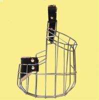Náhubek kovový Nemecký ovcák - sport - fena, chrom 120 x 140 x 100 mm
