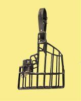 Náhubek kovový Novofunland - pes, gumoplast 140 x 180 x 120 mm