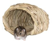 Domek pletený koš krecek/myš 15 x 14 x 10 cm