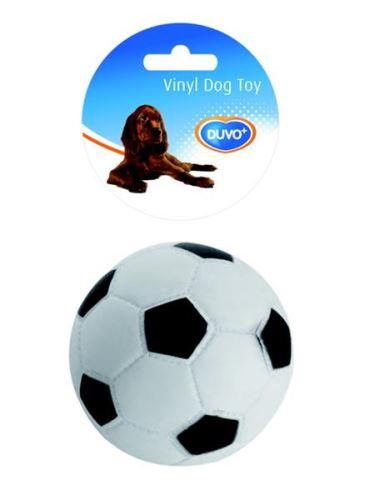Hracka vinyl Míc fotbal DUVO+ prumer 10,5 cm