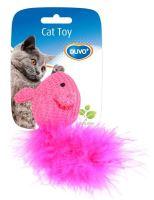 Hracka cat bavlna Myš s ocáskem Duvo+ 10 x 6 x 4 cm