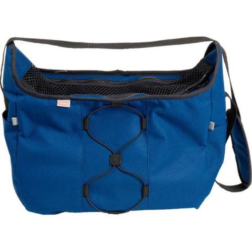 Transp. taška nylon Diana tm.modrá 40 cm - do 7,5 kg