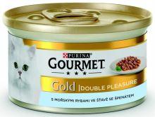 Gourmet Gold cat konz.-duš.a gril.k. morské ryby 85 g