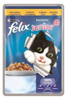 Felix cat kaps.-Fantastic Junior kure v želé 100 g