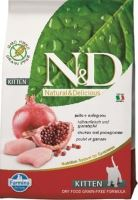 N&D Grain Free Cat Kitten Chicken & Pomegranate 10 kg