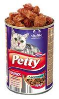 Petty cat konz. s kuretem a tunákem 405 g