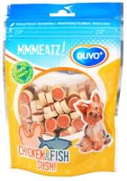 Duvo+ dog Mmmeatz! Chicken & Fish Sushi 100g